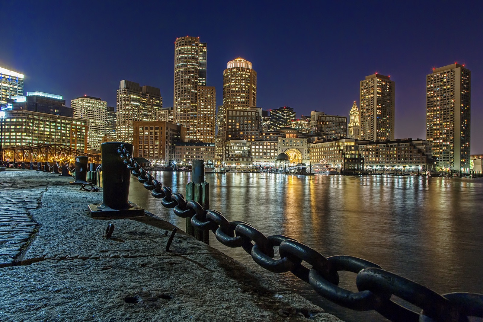 Photograph Boston at Night by James Parker on 500px