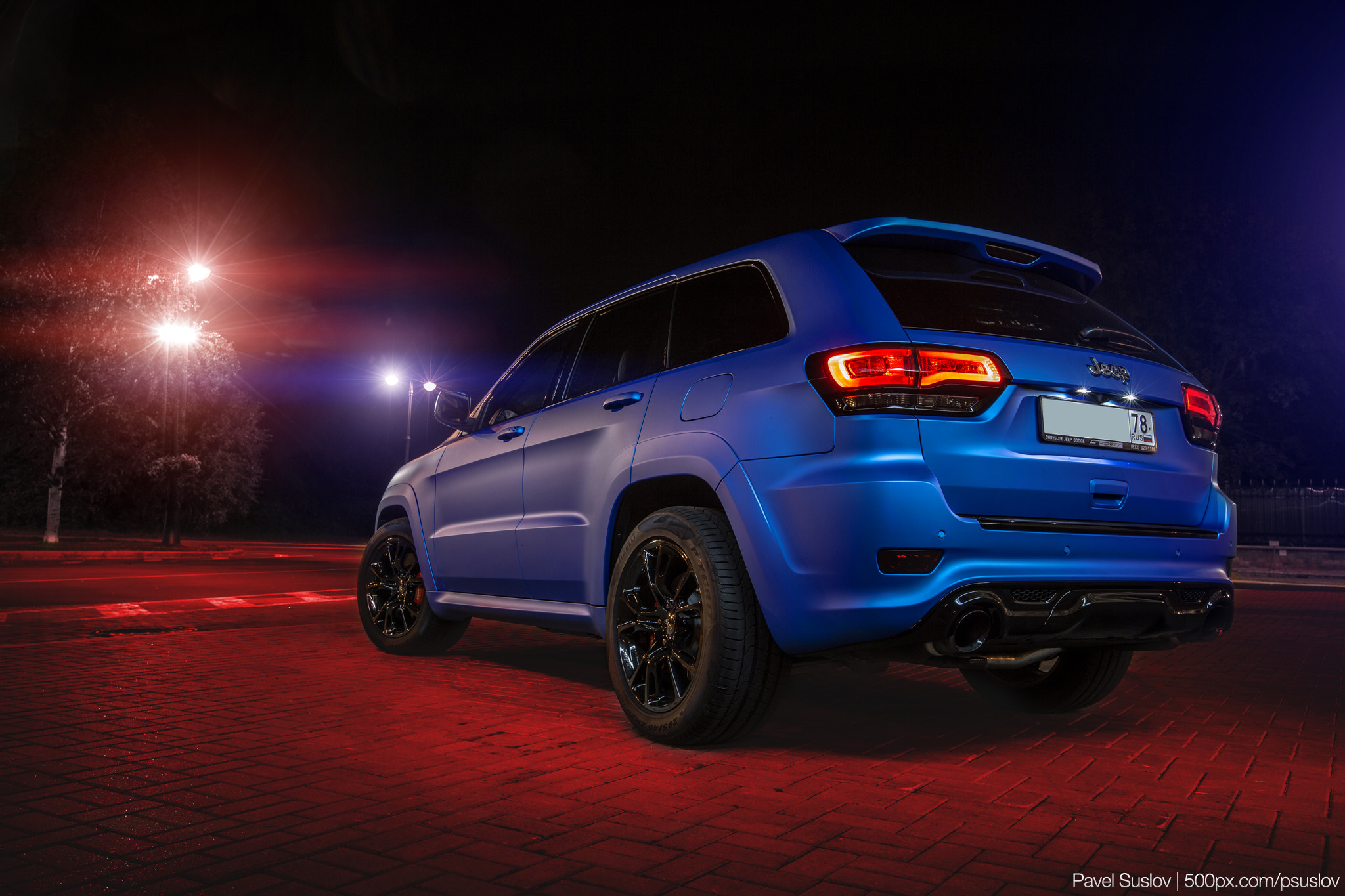 Photograph Jeep Grand Cherokee SRT 2014 by Pavel Suslov on 500px