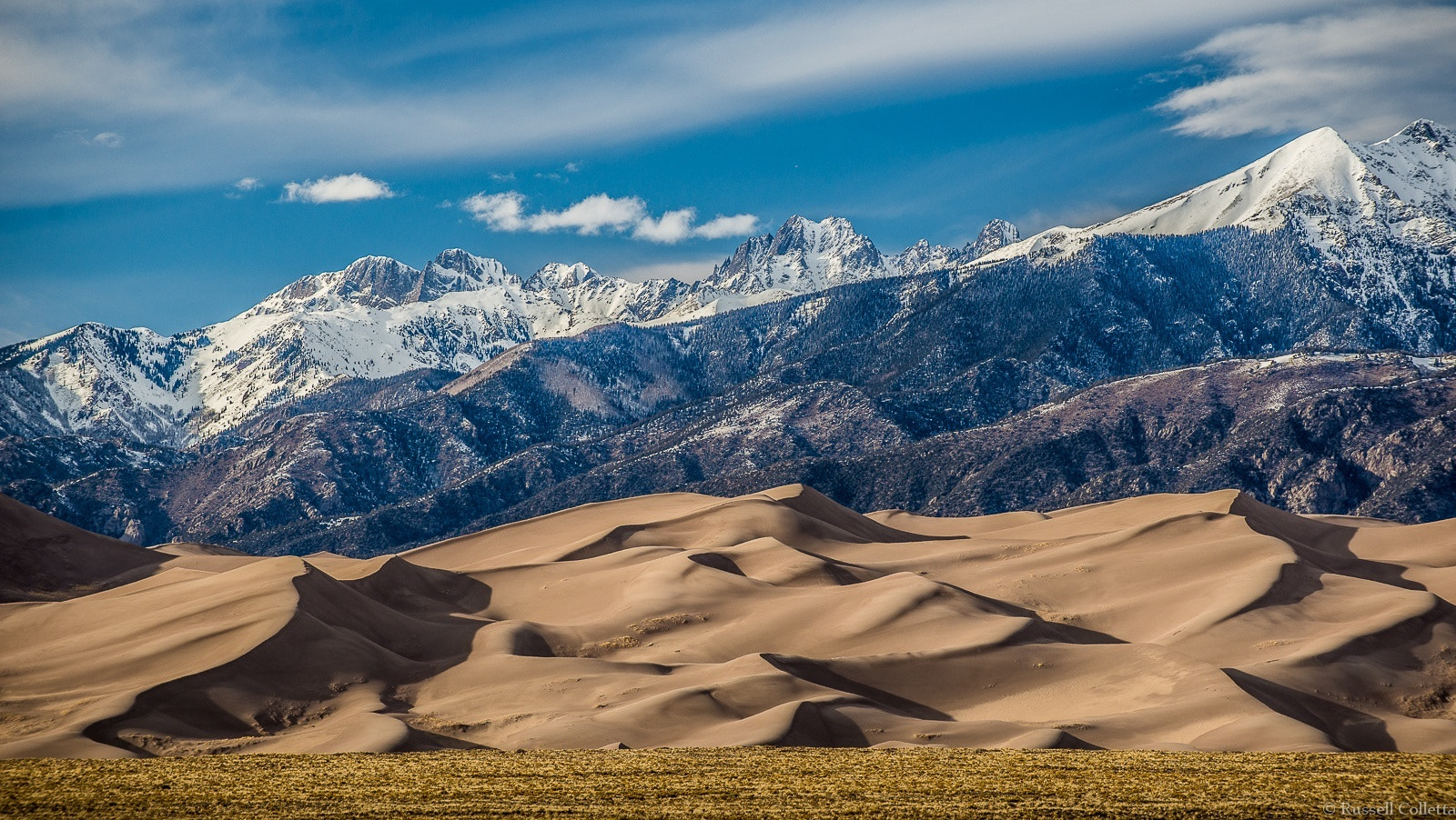 Photograph Dunes and Crestones by Russ Colletta on 500px