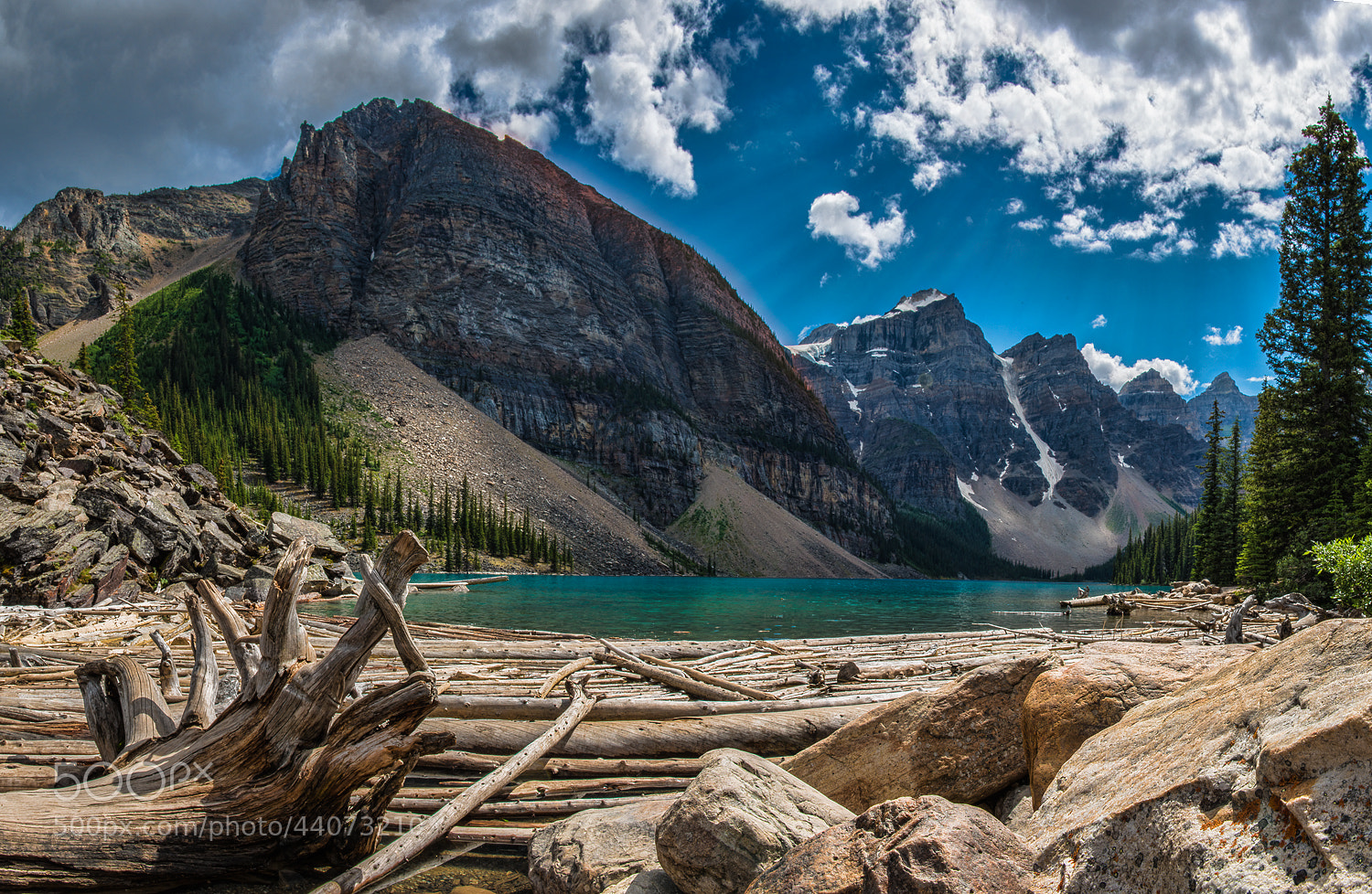 Photograph Moraine Lake, Canada. by Alex Gubski on 500px