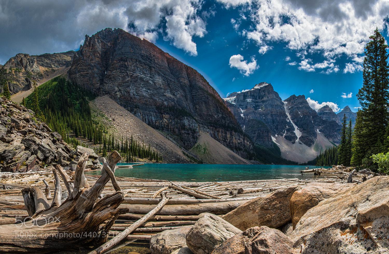 Photograph Moraine Lake, Canada. by Alex Gubski on 500px