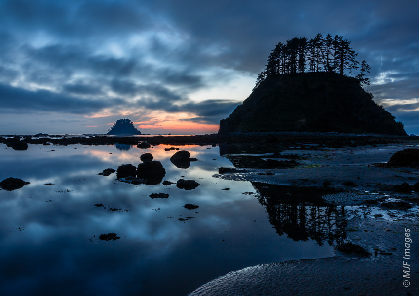 Photograph Dusk at Cape Alava by Michael Flaherty on 500px