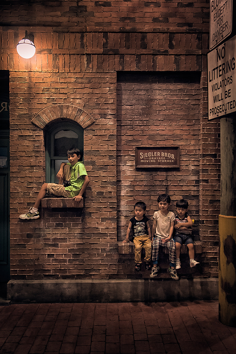 Photograph New Kids On The Block II by Kamsing on 500px