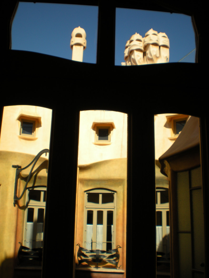 Photograph View from Casa Mila, Barcelona by Esther  on 500px