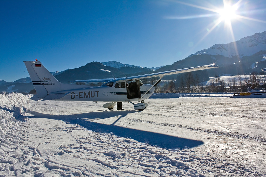 Photograph Winter flying at st. johann by Marc Ulm on 500px