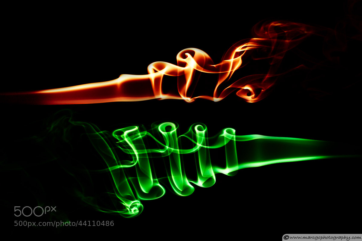 Photograph Smoke Or Flames by Marc Garrido on 500px