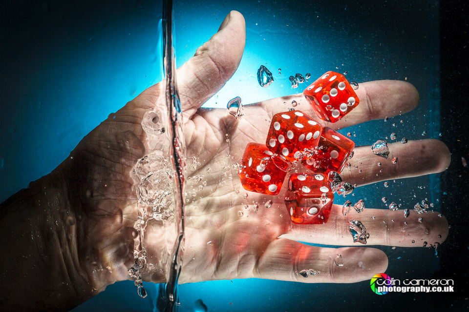 Photograph Underwater Dice by Colin Cameron on 500px