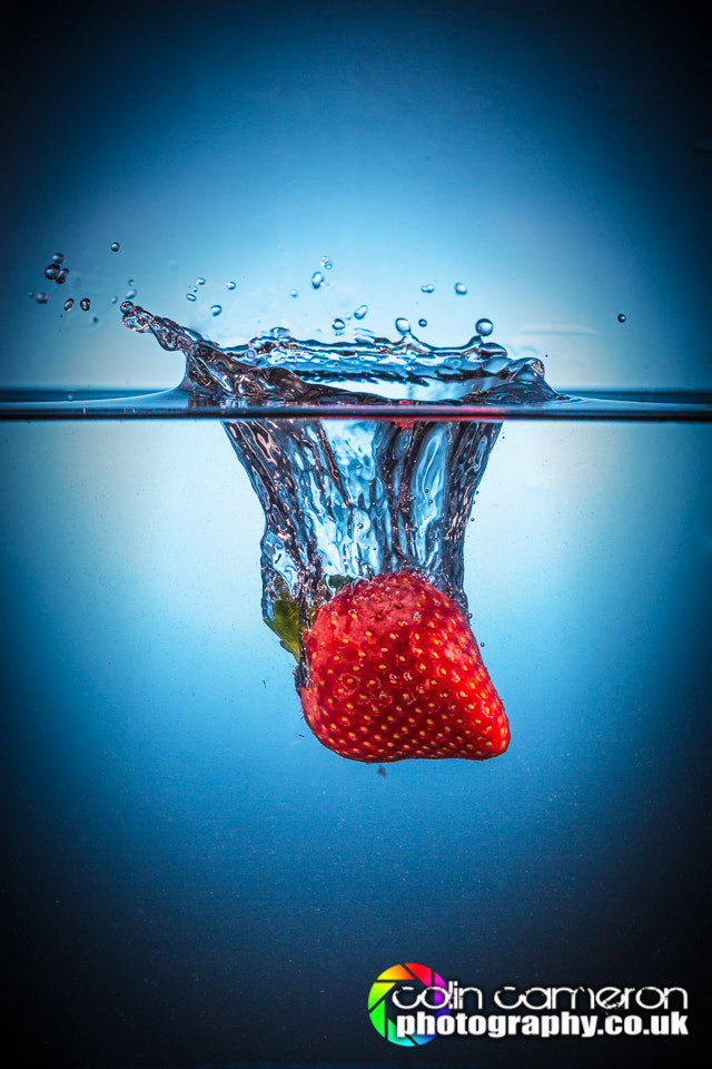 Photograph Strawberry Splash 1 by Colin Cameron on 500px