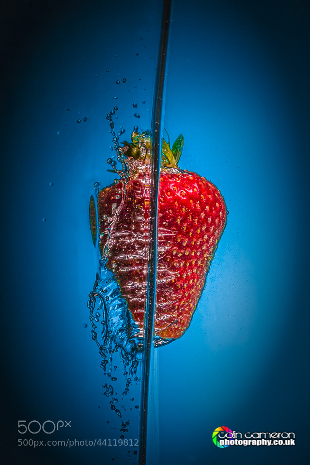 Photograph Strawberry Splash 2 by Colin Cameron on 500px