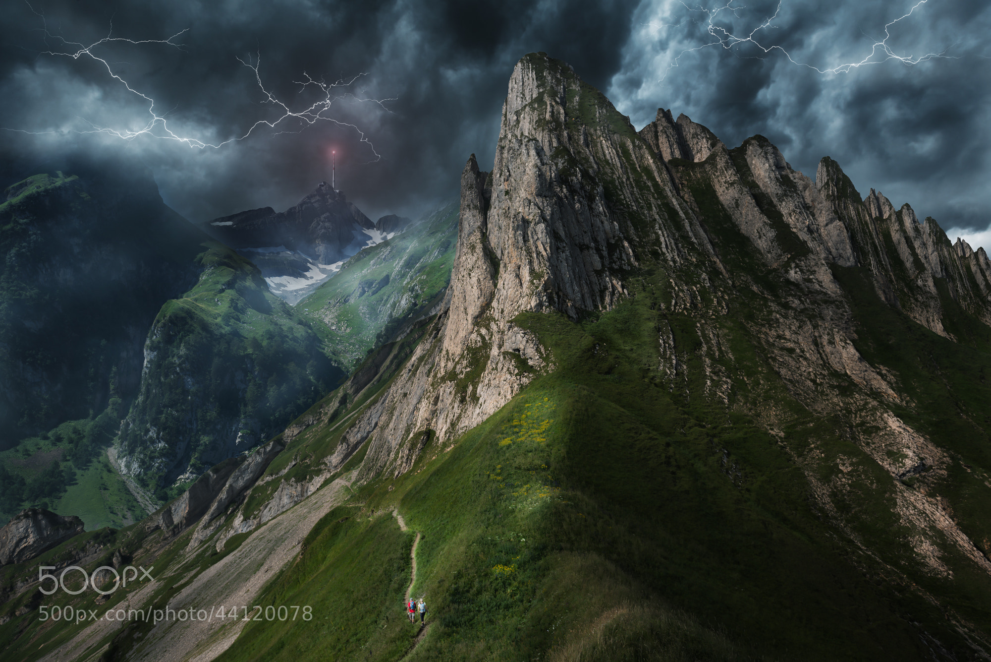 Photograph The dangerous hike by John Wilhelm on 500px