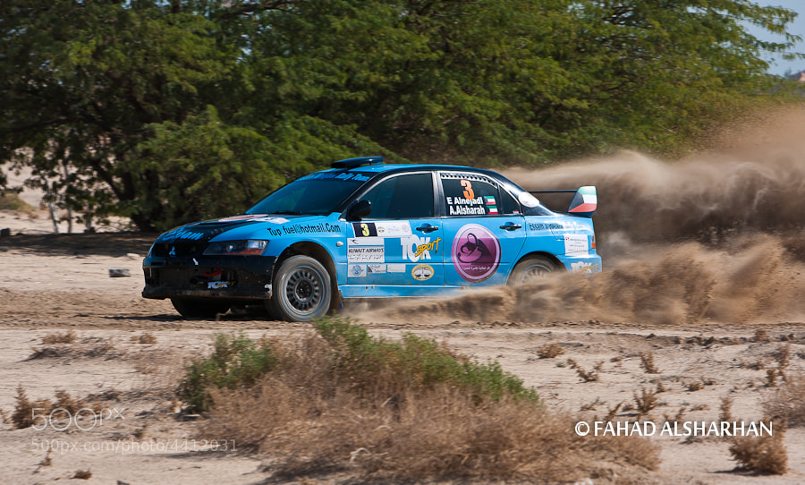 Round 3 of the Kuwait Rally Championship.