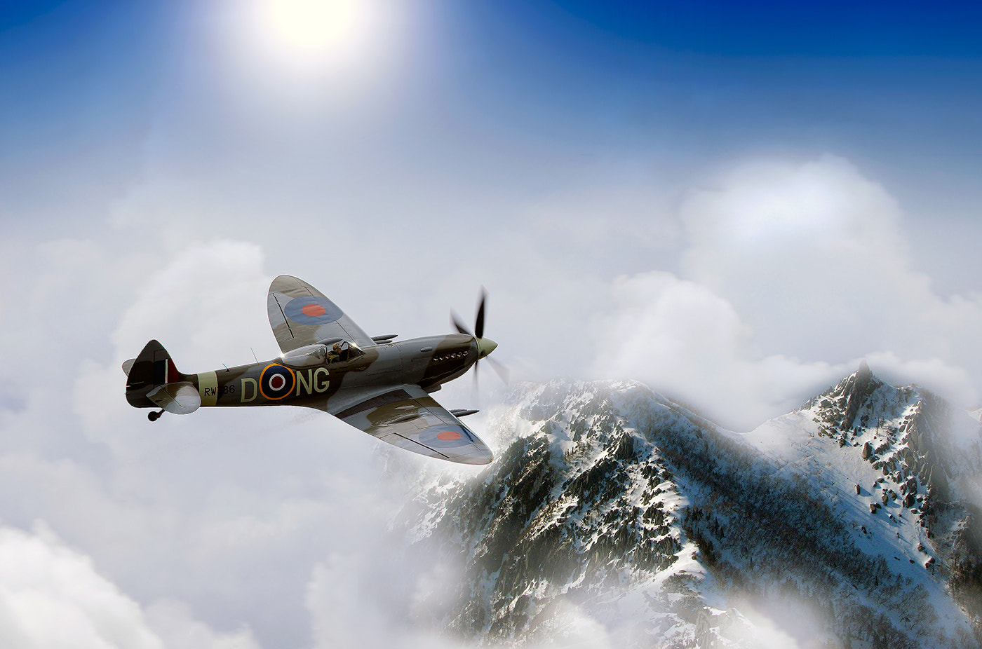 Photograph High altitude spitfire by Brian Nielsen on 500px