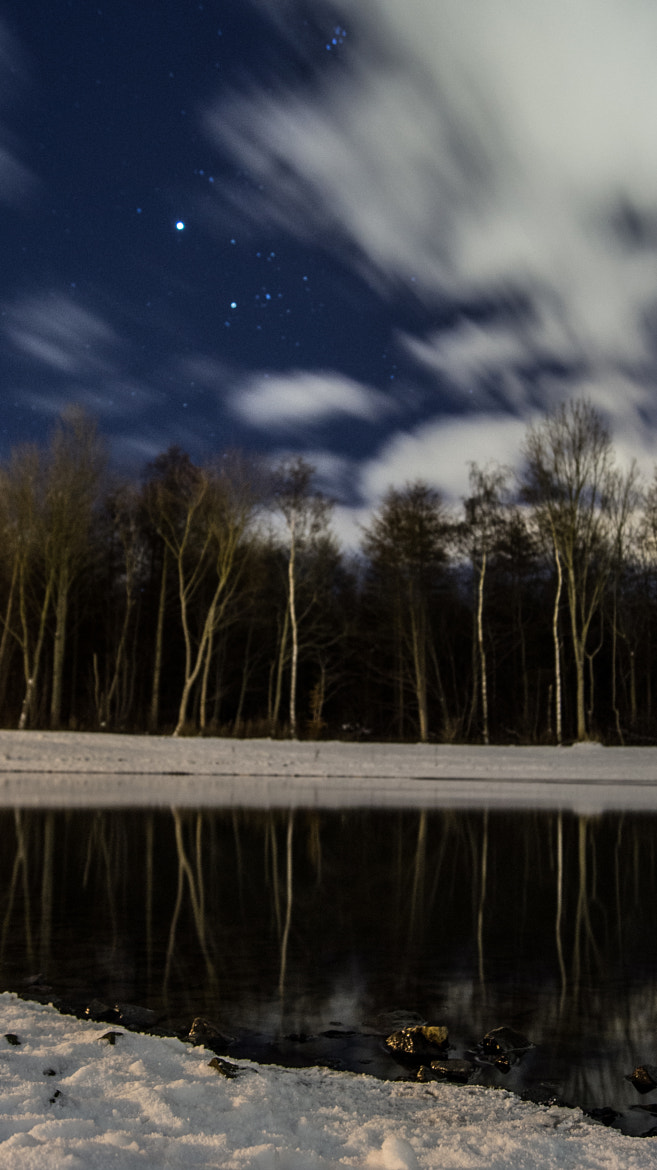 Photograph lake at night by Ahmad A on 500px