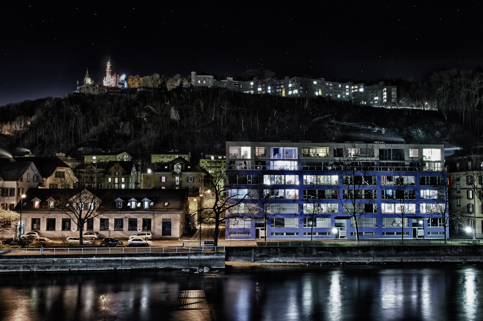 Photograph Winter Night in Lucerne by Martin Weibel on 500px