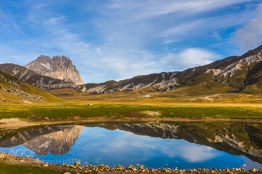 Photograph Corno Grande reflection on Campo Imperatore by Hans Kruse on 500px
