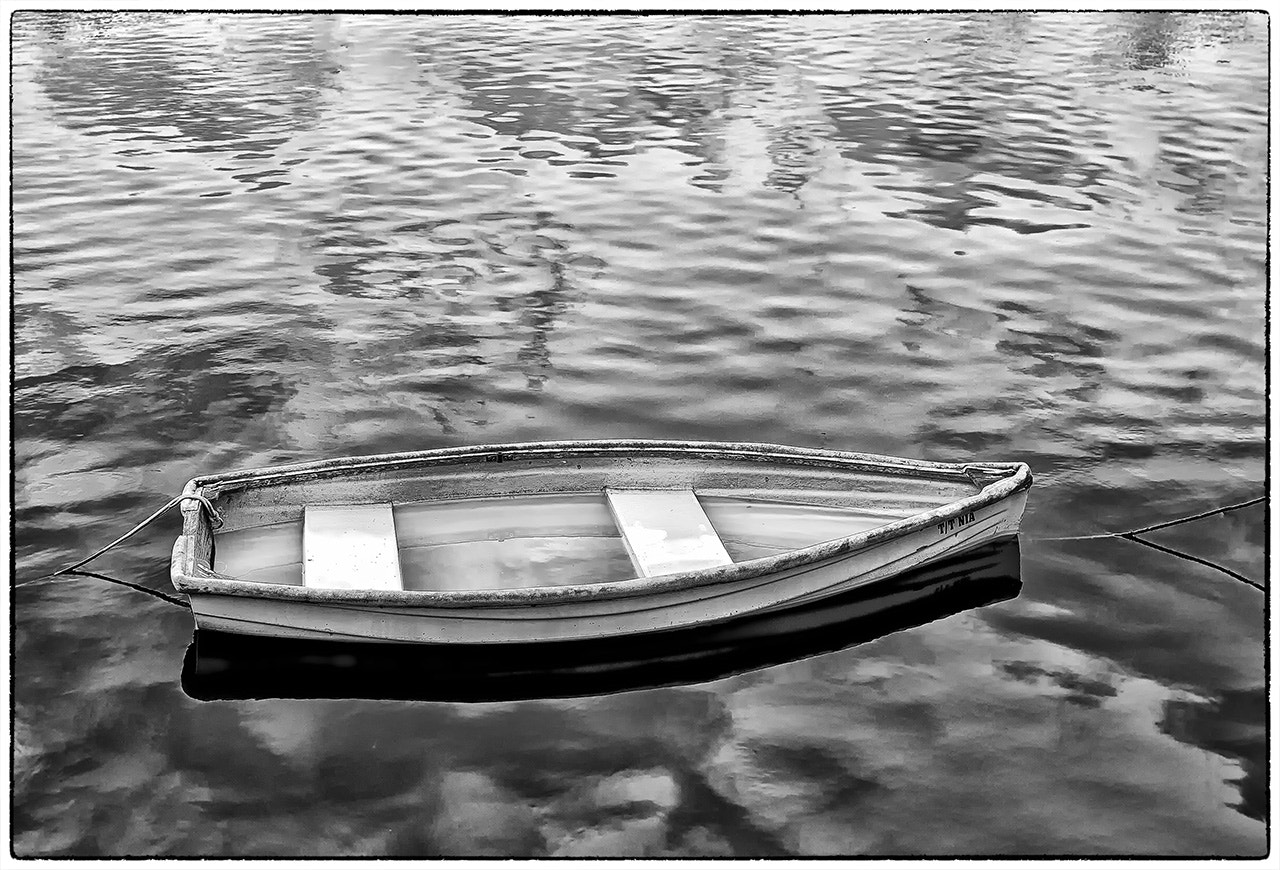 Photograph B&W Sinking Dingy by James Hilliard on 500px