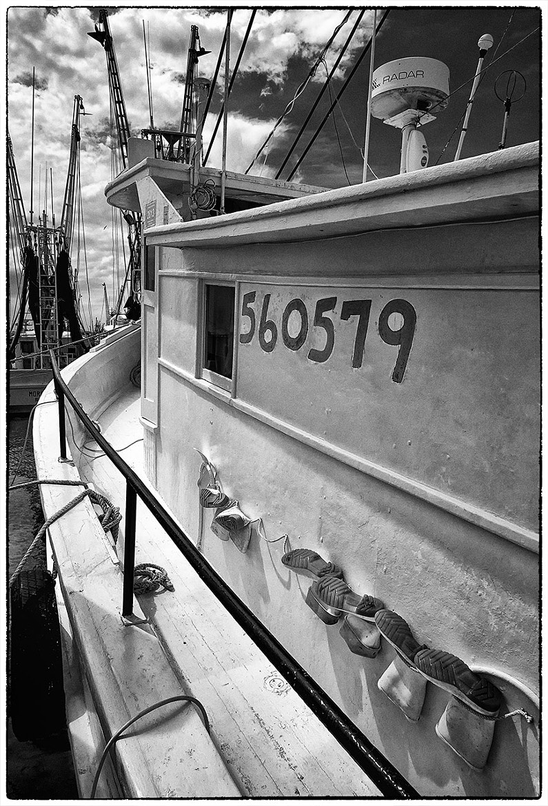 Photograph Das Boots, B&W by James Hilliard on 500px