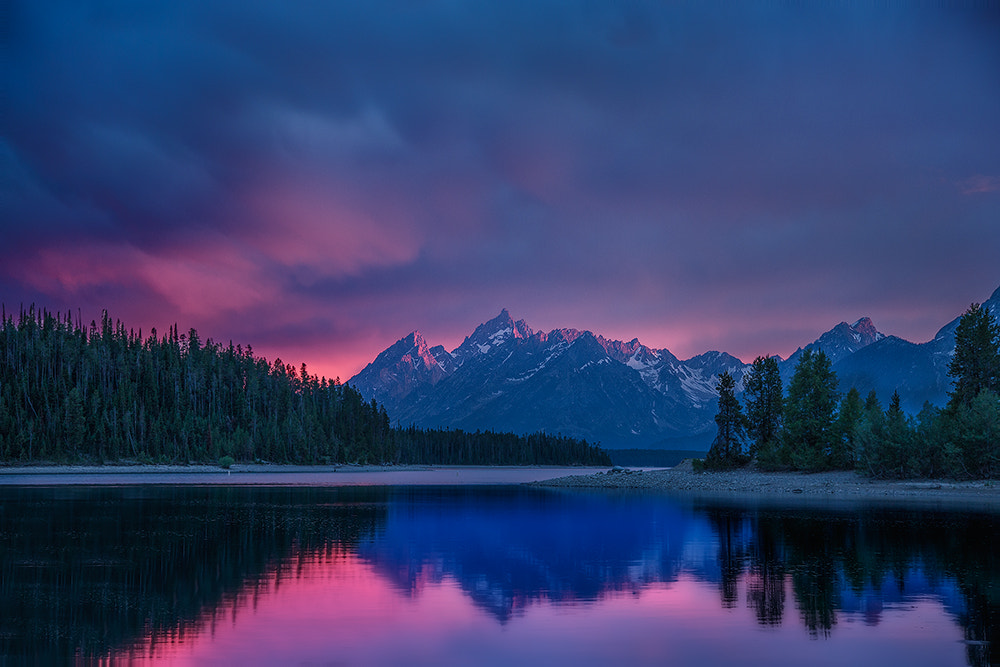 Photograph Teton Colter Bay Sunset by Jerry Patterson on 500px