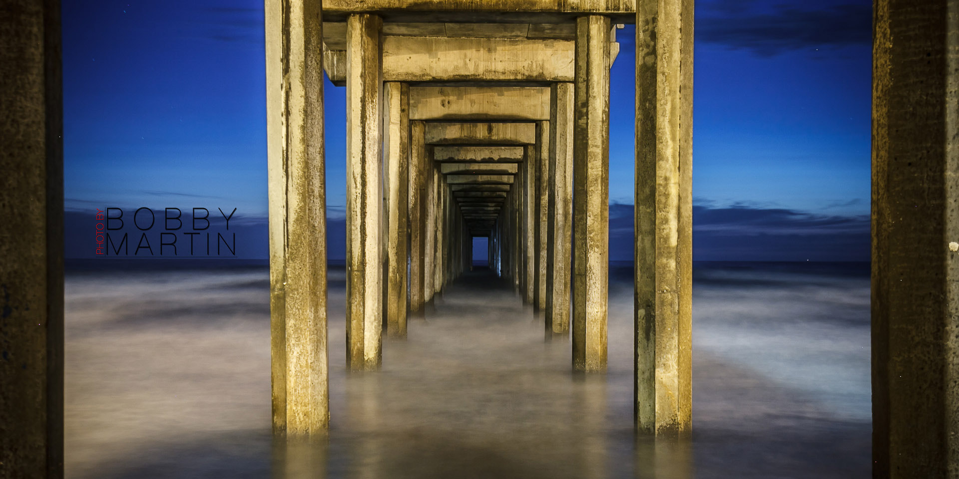 Photograph Scrips Pier Long Exposure by Bobby Martin on 500px