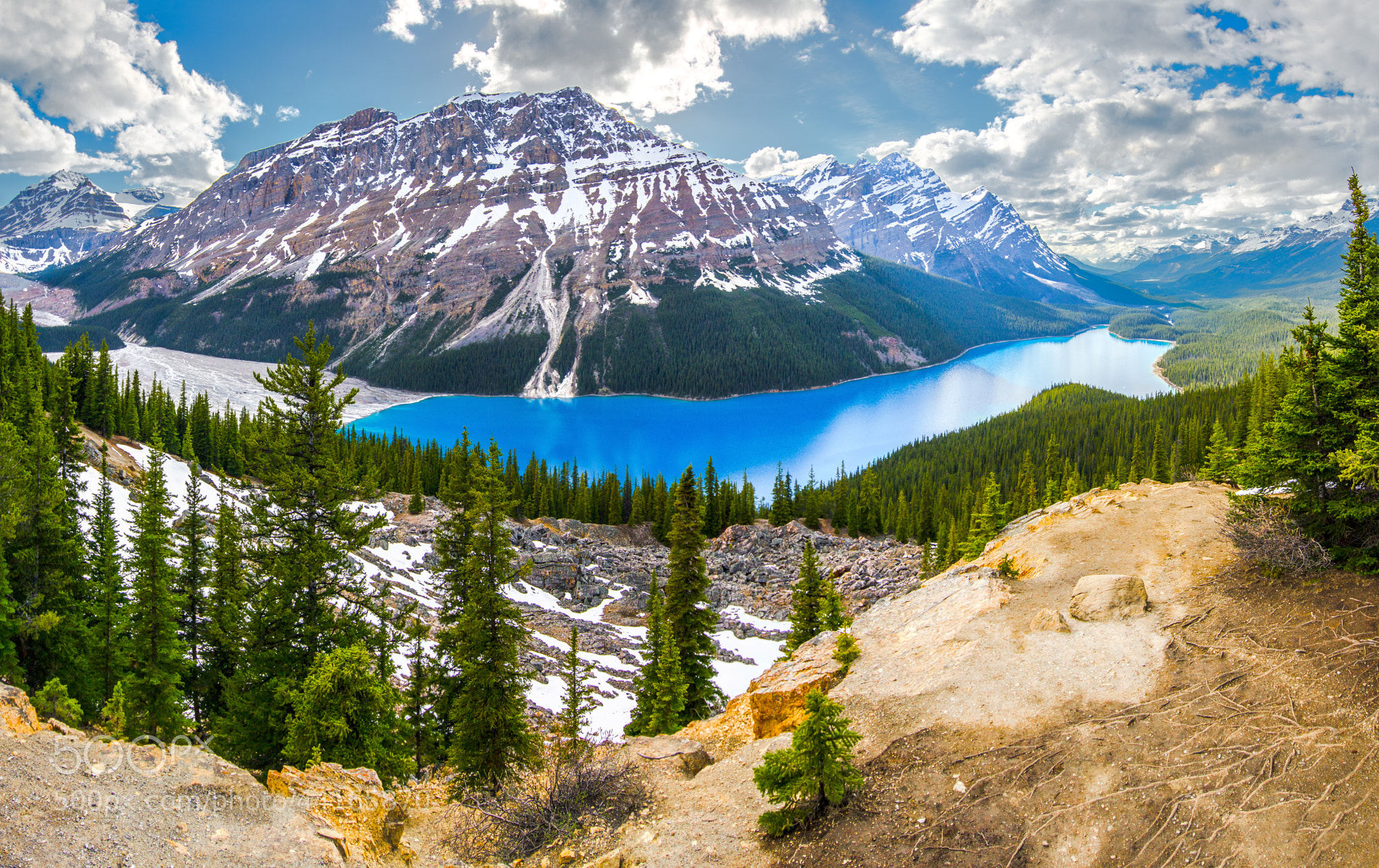 Photograph Peyto lake by César Asensio Marco on 500px