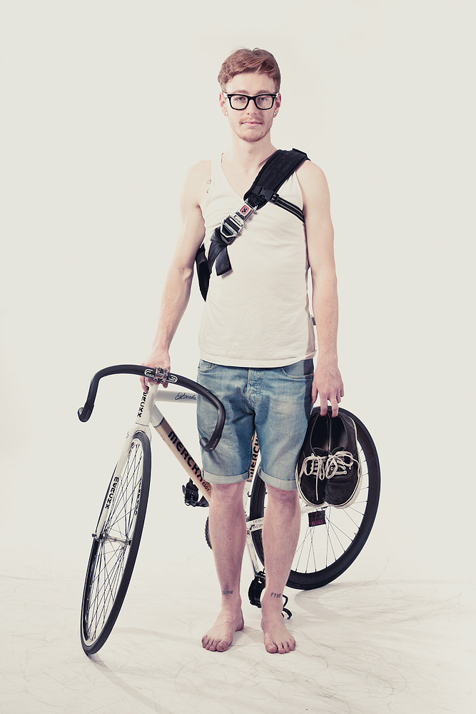 Photograph Fixed Gear Portrait by Stephane Giner on 500px