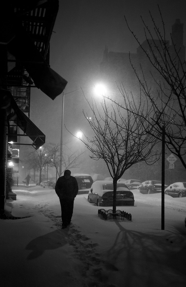 Photograph New York Blizzard 2010 by Thorsten von Overgaard on 500px