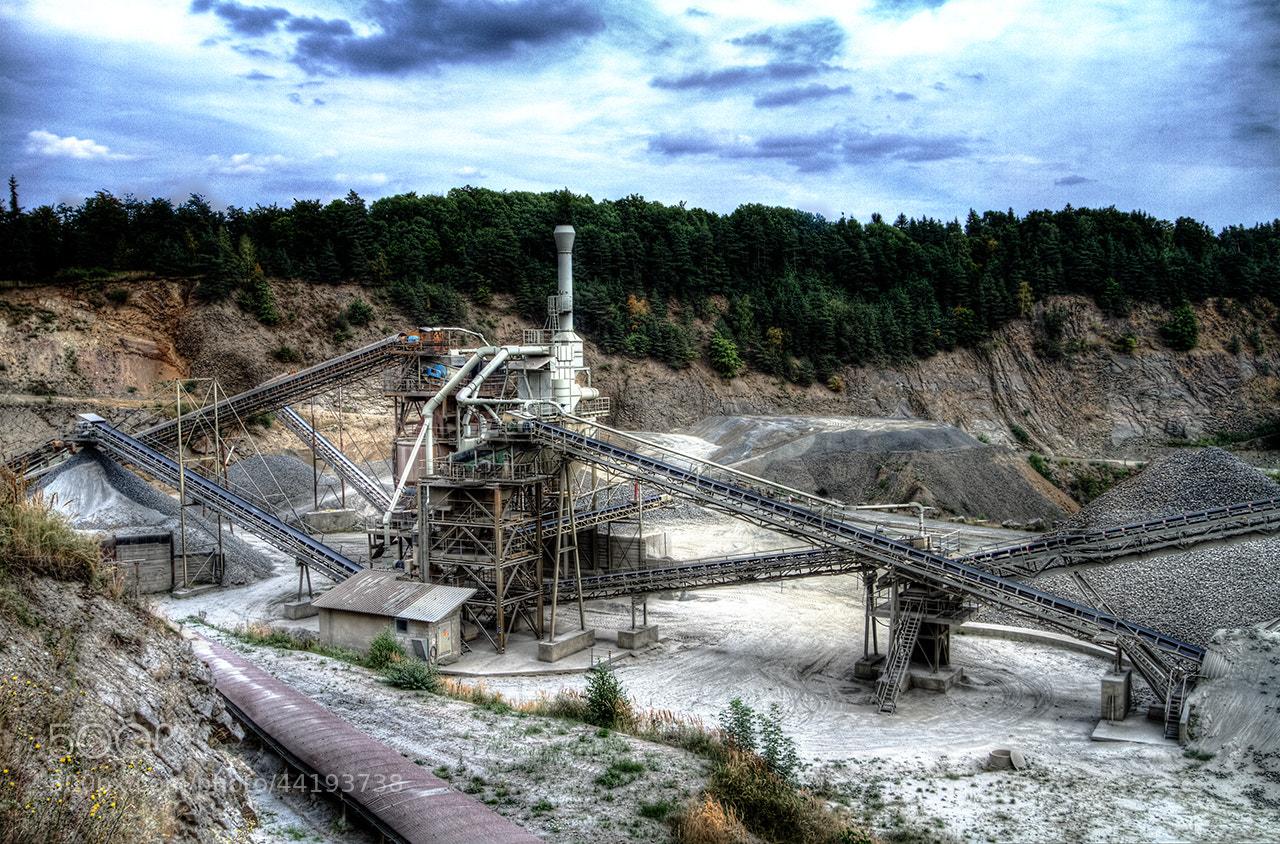 Photograph Maroldsweisach Basalt Schotterwerk Stein-Erlebnispfad by Bernd Pfaffl on 500px