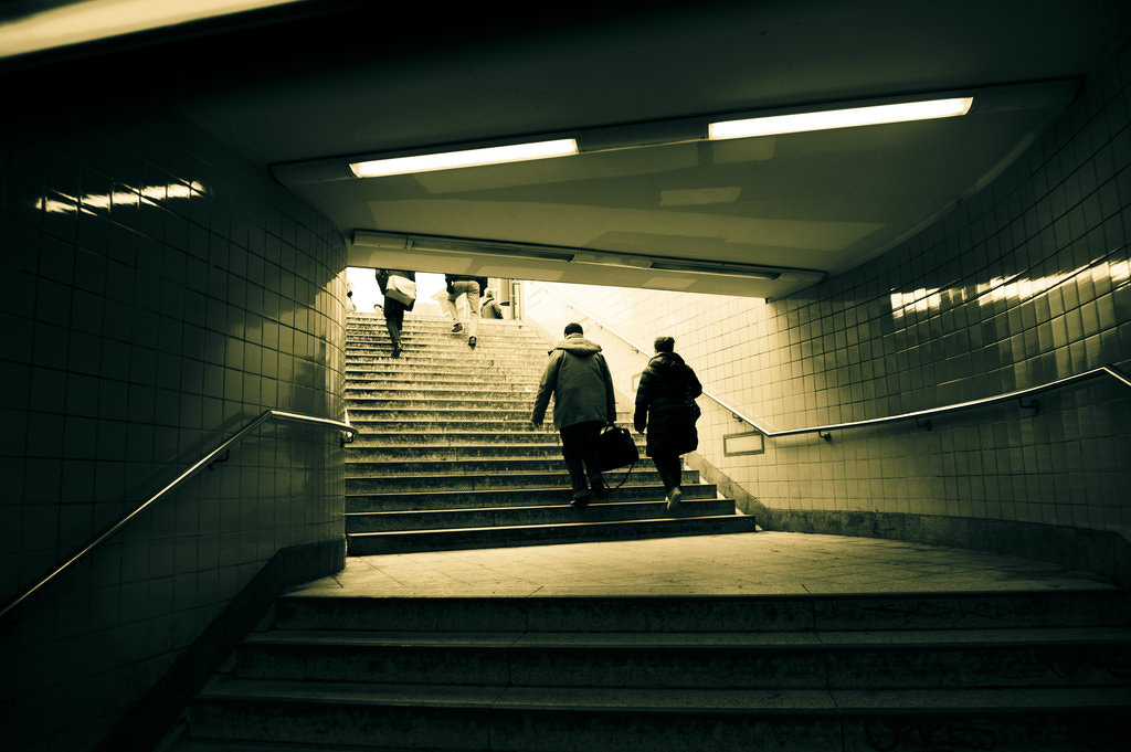 Photograph Berlin Underground by Tue Bengtsson on 500px