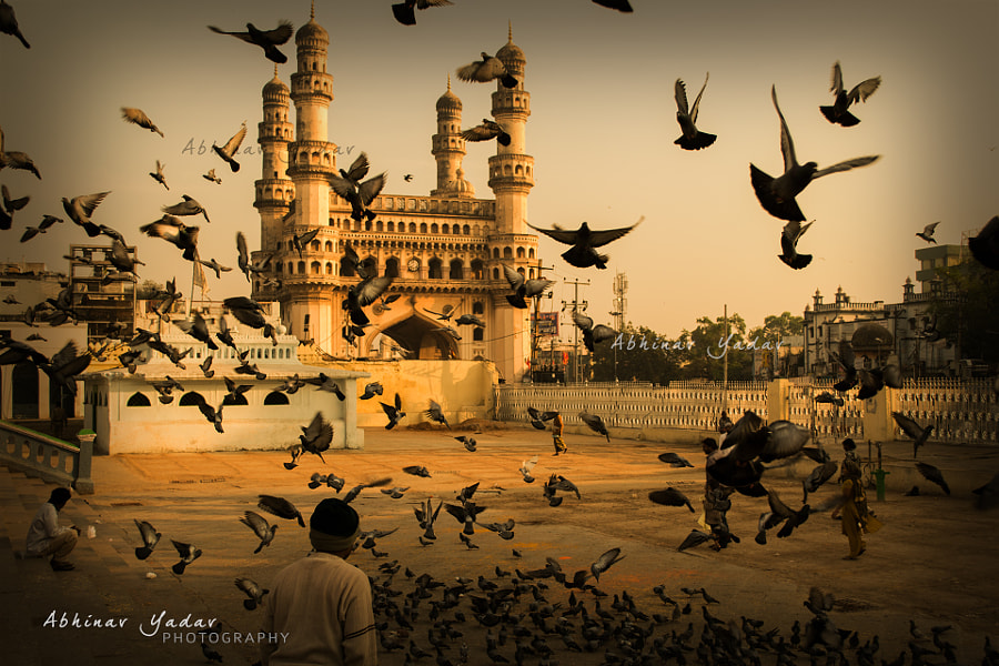 Charminar by Abhinav Yadav on 500px.com