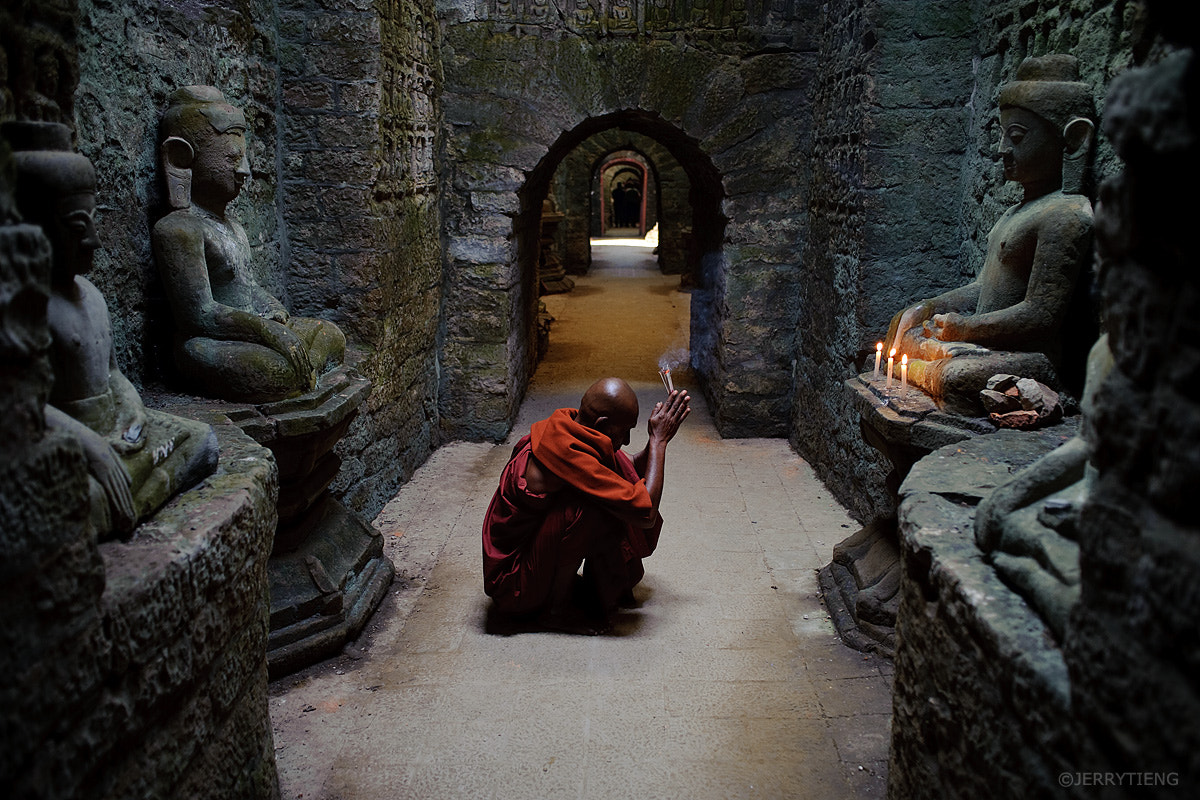 Photograph Prayers for Buddha by Jerry Tieng on 500px