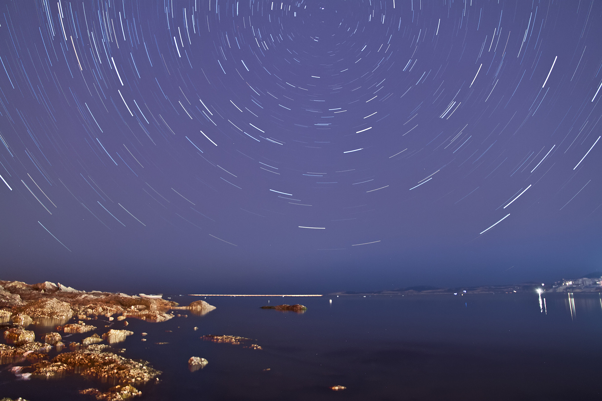 Photograph Stars in Weihai by Song Hongxiao on 500px