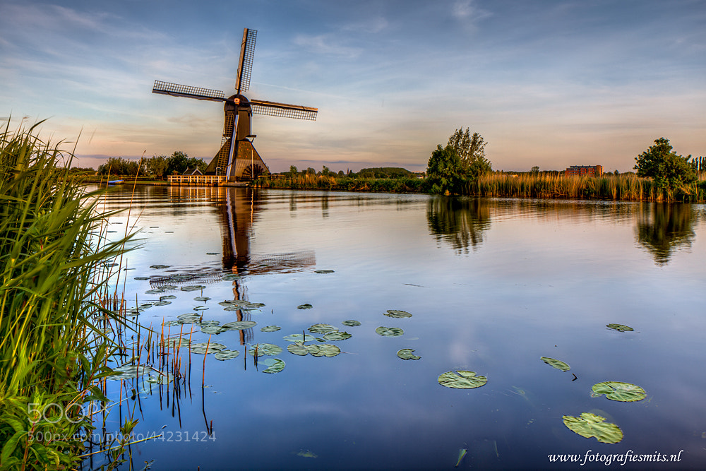 Photograph Kinderdijk @ Sunset by Marc Smits on 500px