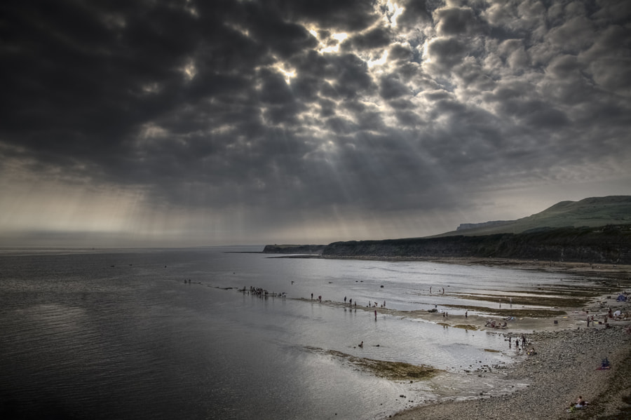Photograph Ringstead Bay by Steve Luck on 500px