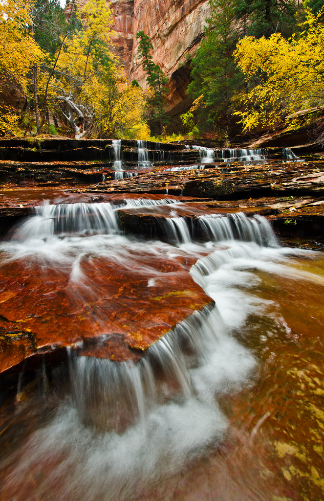 Photograph Archangel Falls by Matthew Kuhns on 500px