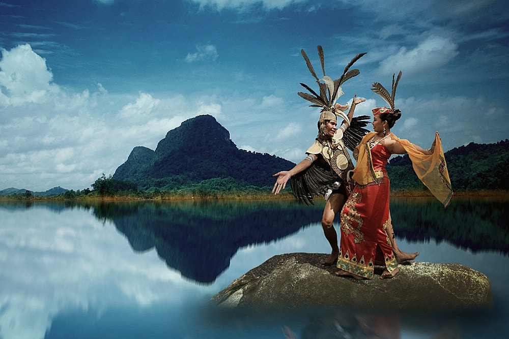 Photograph Traditional Dance Dayak Siang by Hary Muhammad on 500px