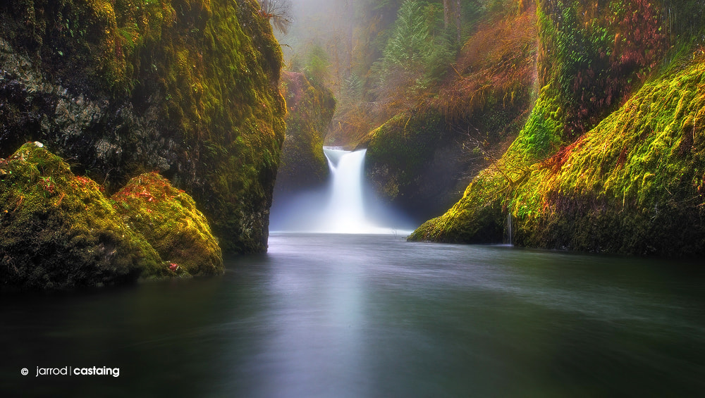 Photograph Punch Bowl Falls by Jarrod Castaing on 500px