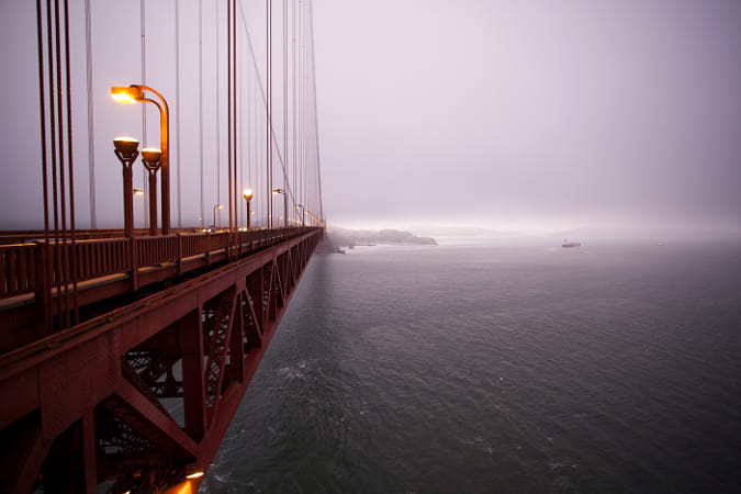 Vanishing Golden Gate by Janet Weldon on 500px