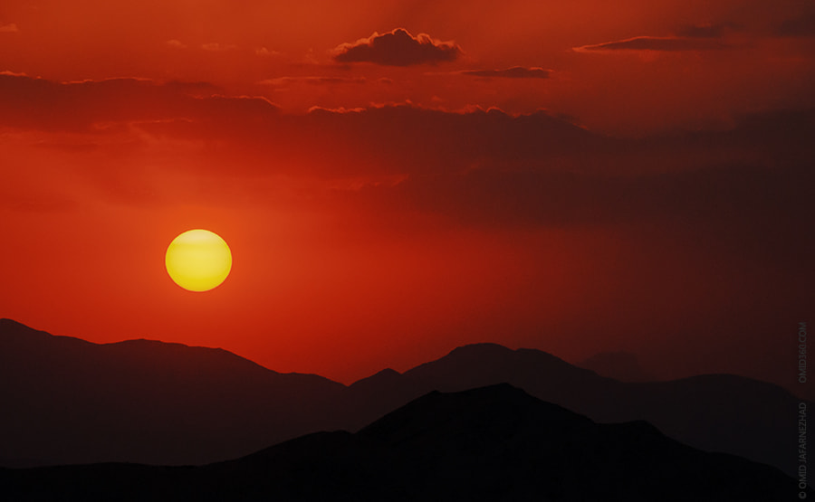Photograph Sunset or sunrise of love by Omid Jafarnezhad on 500px