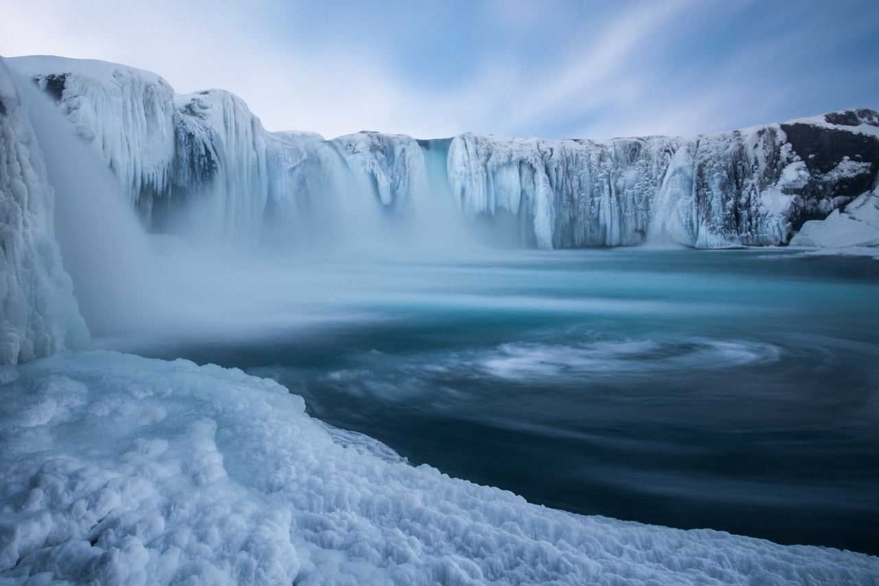 Photograph Godafoss Ice by Philip Eaglesfield on 500px