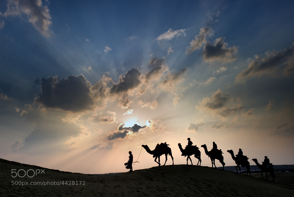 Photograph Desert Train by James Khoo on 500px