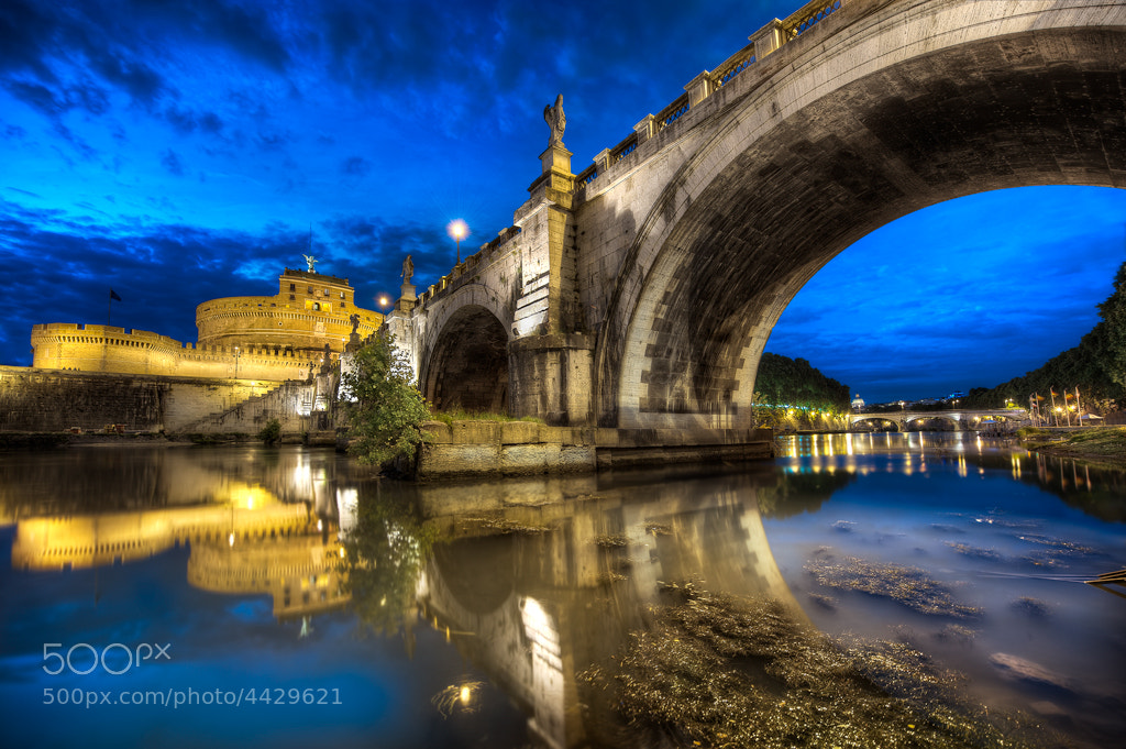 Photograph Under Ponte Sant'Angelo by Elia Locardi on 500px