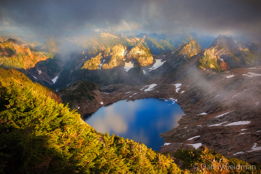 Photograph Peeking Through the Clouds by Danny Seidman on 500px