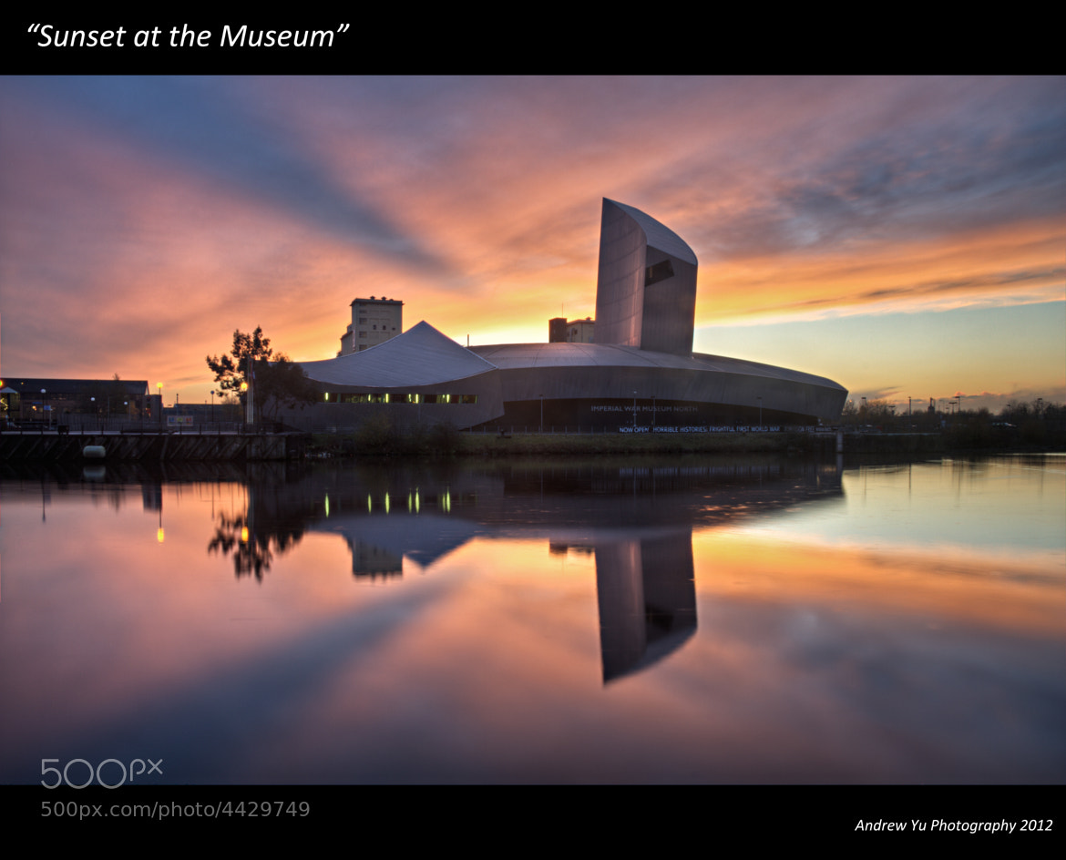 Photograph Sunset at the Museum by Andrew Yu on 500px