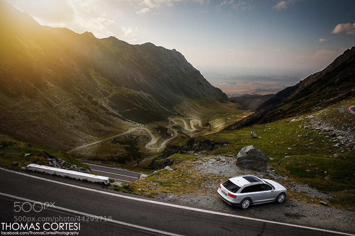Photograph Audi A6 AllRoad in the Transfagarasan by Thomas Cortesi on 500px