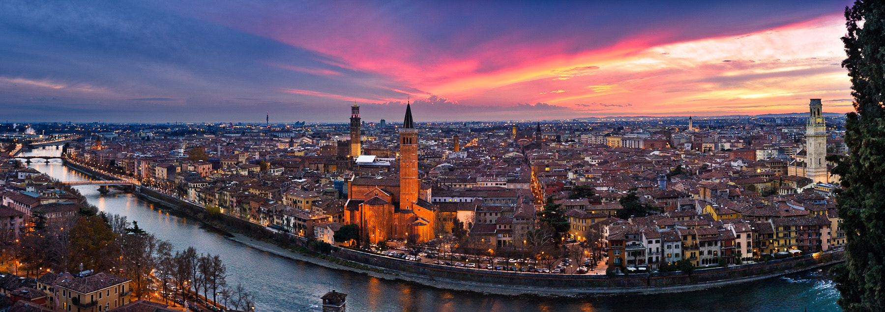 Photograph Sunset at Verona by Slava Mylnikov on 500px