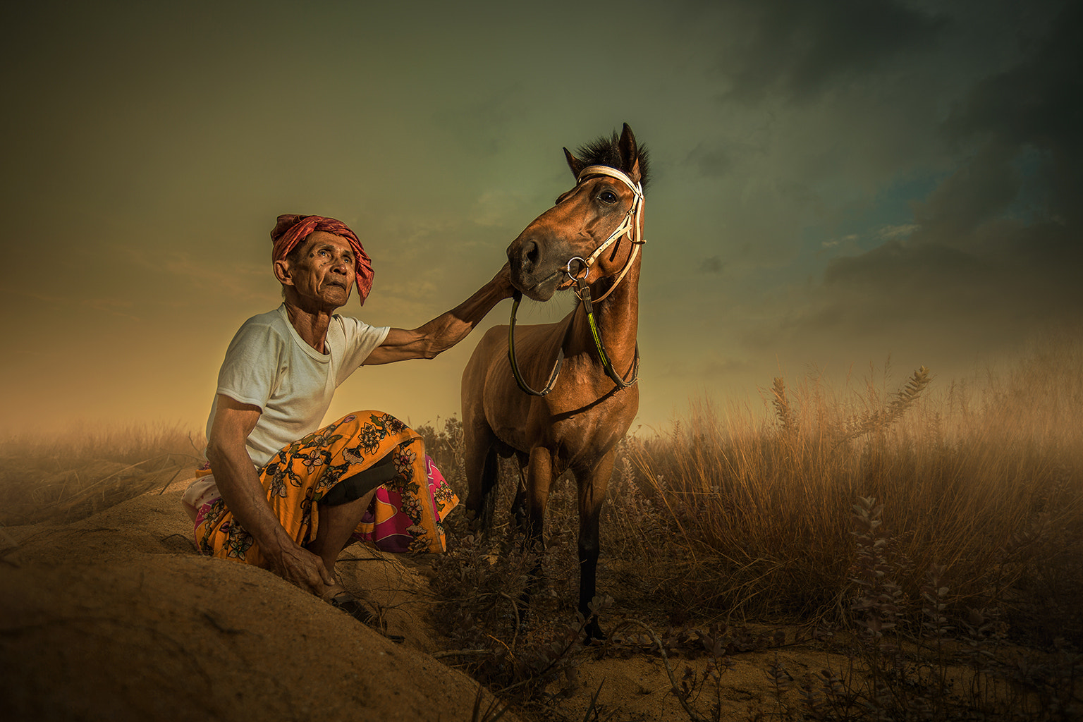 Photograph MEN AND HORSE... by abe less on 500px