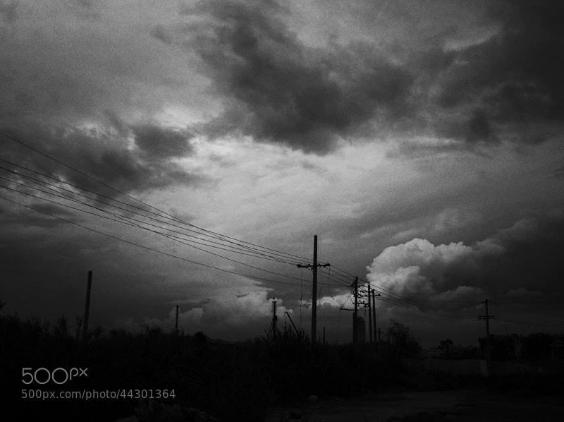 Photograph Poles by Zhu RenYan on 500px