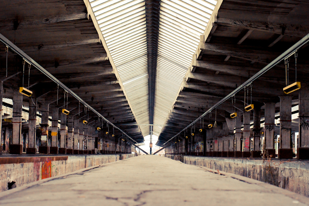Photograph Old depot symmetry by Kai Rauer on 500px
