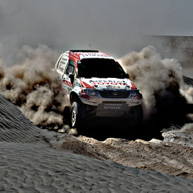 Dakar ,Truck by Esteban Cherres (Echerres)) on 500px.com