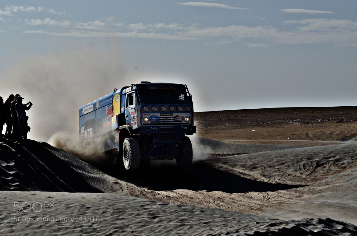 Photograph Dakar, Truck by Esteban Cherres on 500px